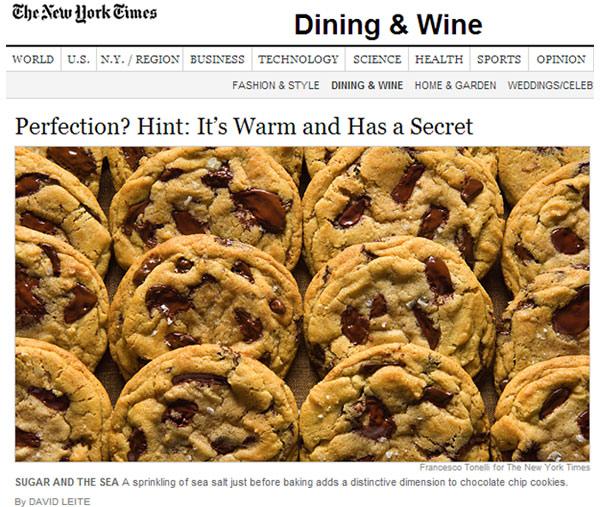 Cookies de chocolate NY style